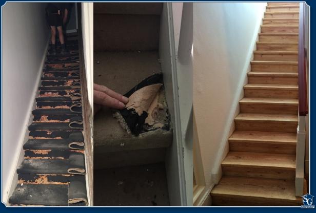 Sg hausoptimierung holztreppen aufarbeiten for Treppe aufarbeiten